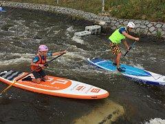 Mistrovství České republiky v paddleboardingu