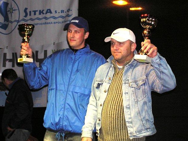 Jan Jinderle (vpravo) a Pavel Kacerovský myslí na trati nejen na vítězství.