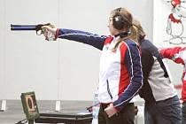 Vzduchová pistole přinesla na mistrovství Evropy v Praze Jihočešce dva cenné kovy.
