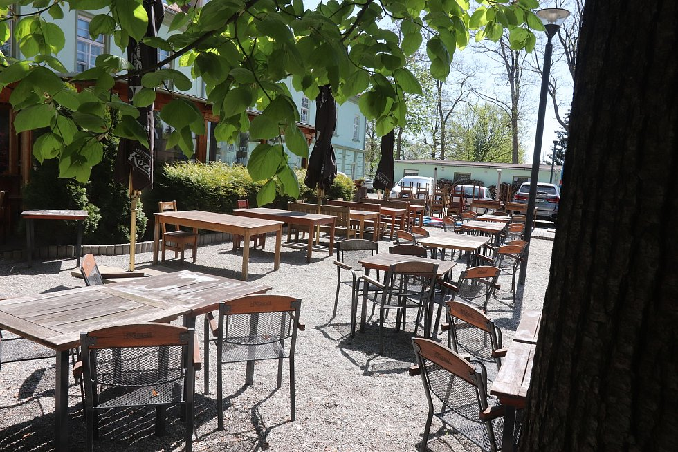 Restaurace Kozlovna v Budějovicích na Husově ulici.