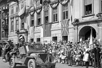 České  Budějovice - jaro 1945