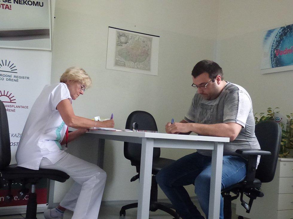 Jan Švepeš je osmdesátým tisícím dárcem kostní dřeně v České republice.