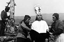 Záběr z filmu Jan Hus.
