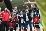 Jihostroj má 10. titul. V rozhodujícím zápase v domácím prostředí porazil Liberec 3:0