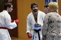 Hvězda světového karate Rafael Aghayev cvičil s Fight clubem České Budějovice.