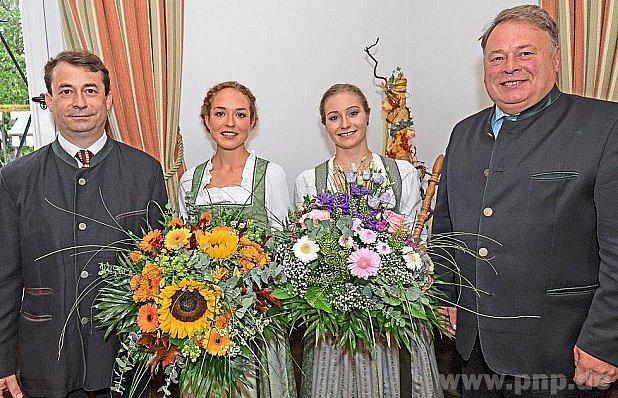 Zkorunovace královny bavorských lesů.