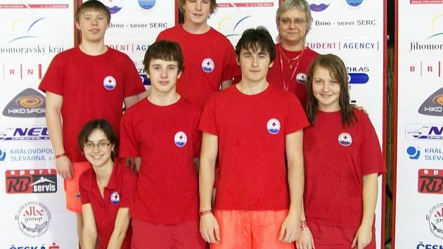 Zdeňka Šrůtová se již čtyři roky věnuje mladým vodním záchranářům.