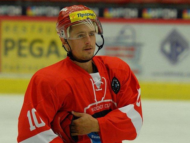 Rostislav Martynek ještě v českobudějovickém dresu.