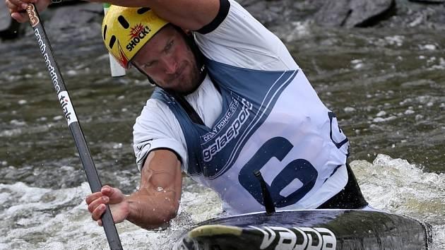 V PEŘEJÍCH. Michal Jáně si vybojoval účast na mistrovství světa.