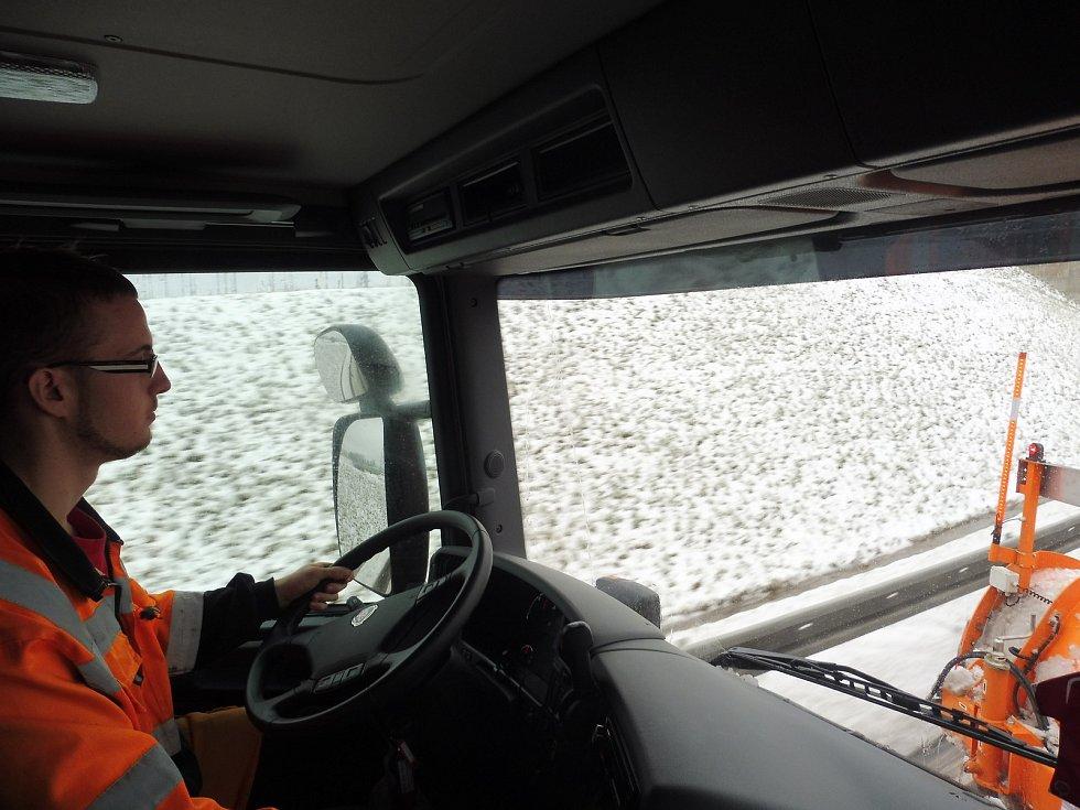 Na Správě a údržbě silnic v Českých Budějovicích je živo.