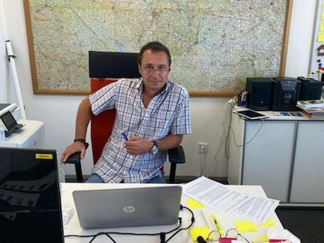 Ředitel Jihočeské centrály cestovního ruchu Petr Soukup.