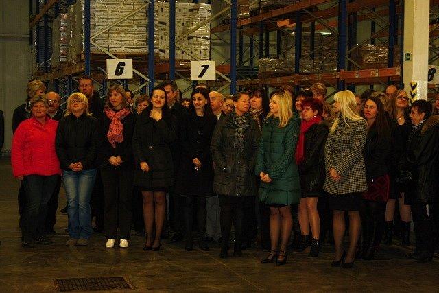 Návštěva Miloše Zemana v českobudějovické Madetě