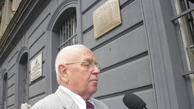 Václav Šulista zachránil před lety dvě školačky. Teď se věnuje členům PTP.