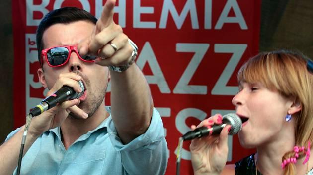 Z jazzfestu 2014. Ilustrační foto.