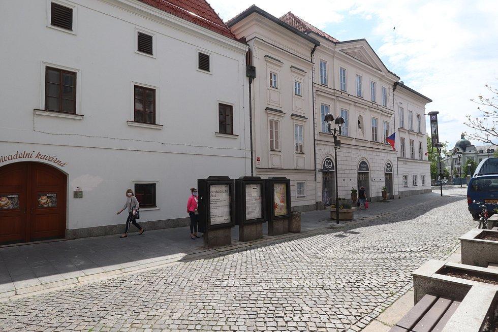 Jihočeské divadlo v Českých Budějovicích.