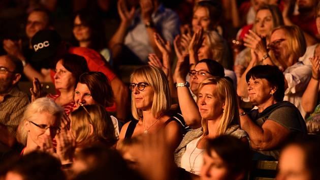 Z koncertu Juliána Záhorovského a Janka Ledeckého v Berouně. Foto: Pavel Paluska