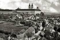 Klášter, kde sídlila slovenská vláda.