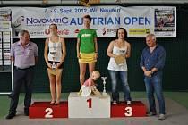 Zuzana Kubáňová vyhrála turnaj světové série