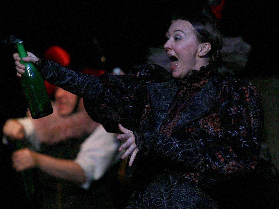 Lenka Krčková nadchla letos asi nejvíc ze všech hereček Jihočeského divadla díky roli Štěpky v Petrolejových lampách. Excentrické ženě, jež marně touží po dítěti, rozumí.