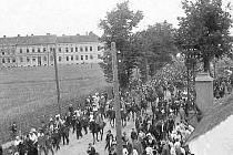 KDYSI: Pražská třída před rokem 1909.
