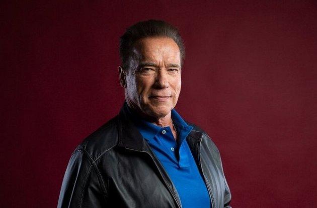 Arnold Schwarzenegger na sociální síti.