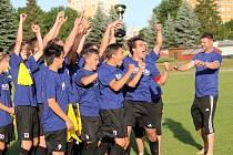 Fotbaloví starší dorostenci SKP ČB se stali vítězi krajského poháru. Ve druhém finále porazili ve čtvrtek večer doma Mladou Vožici jednoznačně 6:0.