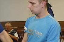 Michal Nováček u soudu.