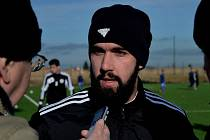 Goran Antunovič po zápase Dynama se Znojmem odpovídá na dotazy Deníku jižní Čechy.