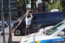 Po nahlášení nástražného výbušného systému policisté v pondělí dopoledne evakuovali budovu Krajského soudu v Českých Budějovicích.