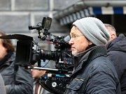 V Českém Krumlově se 2. listopadu natáčel německý historický film o reformátorovi Martinu Lutherovi. Dvoudílný film odvysílá příští rok německá stanice ZDF. Na snímku režisér Uwe Janson.