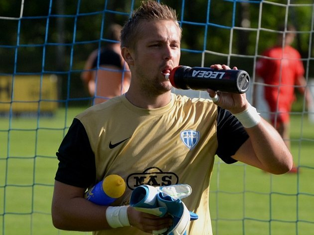 Brankář Michal Toma patří v Táborsku k největším oporám týmu.