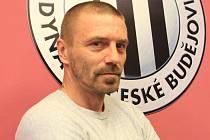 Tomáš Řepka na úterní tiskovce Dynama.
