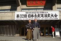Sekiguchi Sensei před Nippon Budokan.