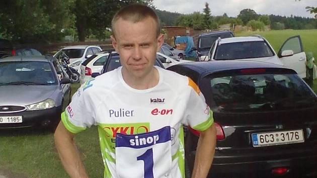 BĚŽEC. Jiří Diviš patří v Jihočeském běžeckém poháru k nejaktivnějším.