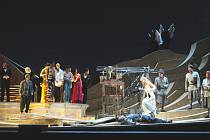 Snímek z představení Salome, které  se v kvalitním zvukovém i vizuálním přenosu objeví v  krajské metropoli 11. října.