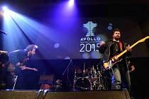 Cenu české hudební kritiky Apollo za nejlepší domácí album uplynulého roku získala táborská kapela Please The Trees za nahrávku Carp. Na snímku ze čtvrtečního předávání ceny v pražském klubu Royal.