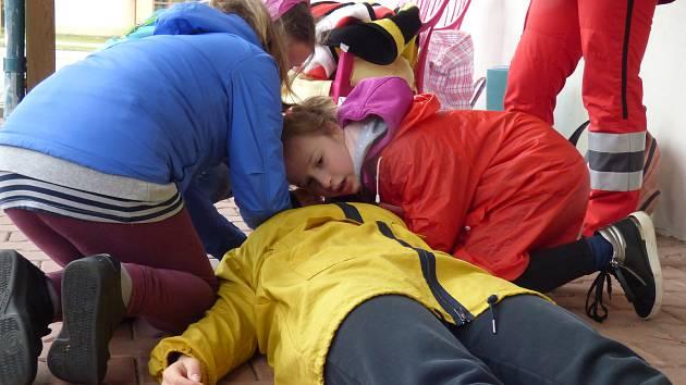 Ve středu se na českobudějovickém výstavišti uskutečnilo Oblastní kolo soutěže Mladých zdravotníků Českého červeného kříže.