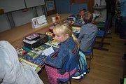 První den v Základní škole Petříkov.