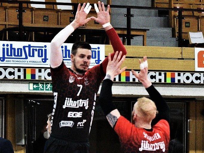 Volejbalisté Jihostroje České Budějovice v extralize