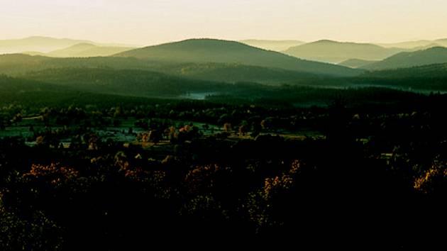 Fotografie šumavských vrchů