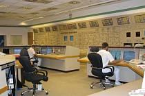 Řídící pracoviště Jaderné elektrárny Temelín