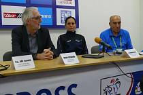 Tisková konference před startem MS 2015, Cookson, Nash a Kalaš