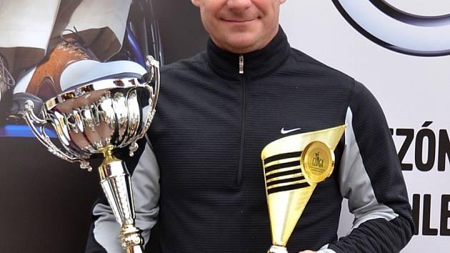 VÍTĚZ. Miroslav Lidinský vyhrál v Hluboké nad Vltavou nejdůležitější kategorii Medical Pass a byl nejlepším i v kategorii golfistů s postižením dolních končetin.
