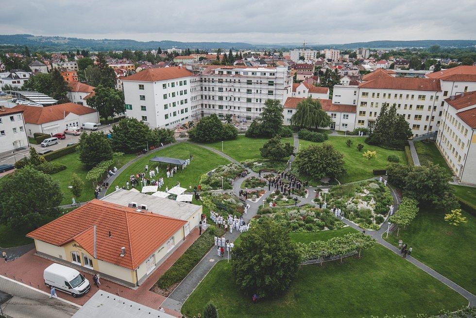 Koncert pro zaměstnance českobudějovické nemocnice.