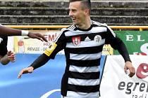 Jakub Pešek dal v prvním utkání Dynama v Jihlavě oba góly hostí.