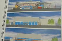 Rekonstruovaná hala by mohla vypadat i tak, jak ji představuje vizualizace ateliéru EIS.