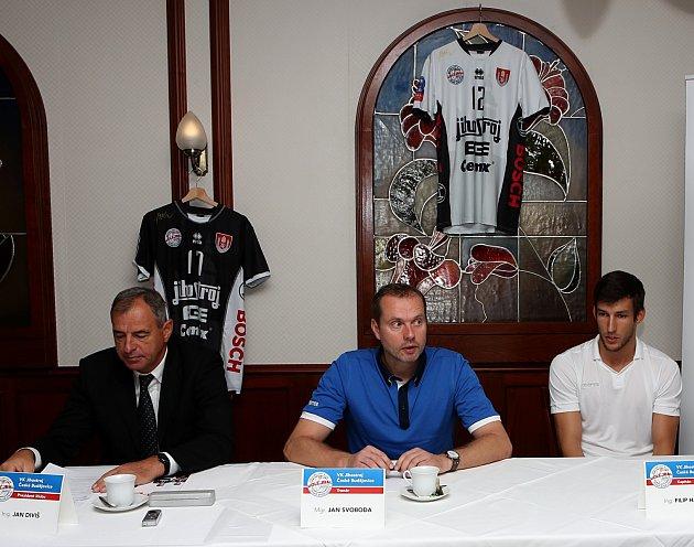 Tisková konference VK Jihostroj Č. Budějovice
