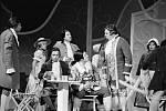 Josef Průdek, osobnost opery Jihočeského divadla, slaví 70. narozeniny. Snímek z představení Manon Lescaut.