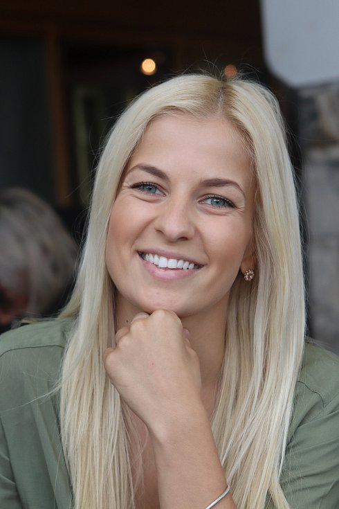 Finalistka Miss 2017 Michaela Šmejkalová.
