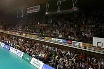 1.finálové utkání extraligy mužů ve volejbale mezi celky VK Jihostroj České Budějovice a VK DHL Ostrava.